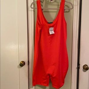 Sexy Bright Red Jumpsuit—new with tags!